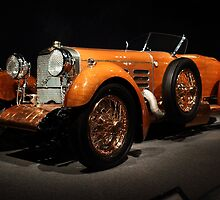 1924 Hispano Suiza Dubonnet Tulipwood front view by transportation