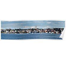 Gloucester -- Panoramic Tilt-Shift Poster