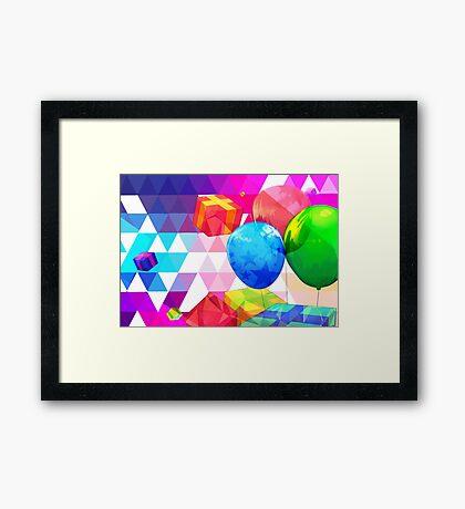 Lets Party! Framed Print