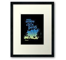 Paradise Parks Framed Print