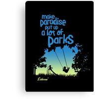 Paradise Parks Canvas Print