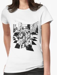 Busting Ghosts Womens T-Shirt