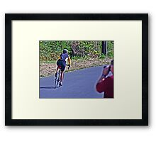 WATCHING MORE THAN JUST SURFERS Framed Print