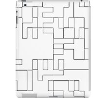 COLORING TETRIS iPad Case/Skin