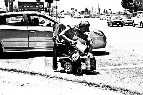 """"""" Get out of the way cripple ..... """" by CanyonWind"""