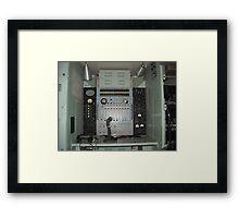 Telephone Switchboard Truck Framed Print
