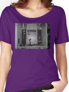 Telephone Switchboard Truck Women's Relaxed Fit T-Shirt