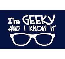 GEEKY Photographic Print