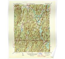 Massachusetts  USGS Historical Topo Map MA Wales 352297 1946 31680 Poster