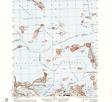 Massachusetts  USGS Historical Topo Map MA Hull 351030 1948 25000 by wetdryvac
