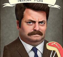 Swanson Steak by Harry Townend