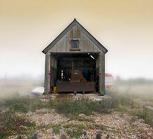 Bulldozer Shed by Nigel Bangert