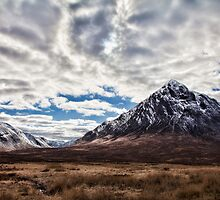 Glen Coe Mountains of Scotland Wow! by Mark Gillan