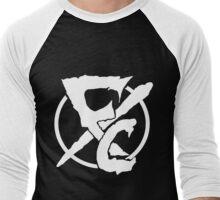 FLESH COLLISION  Men's Baseball ¾ T-Shirt