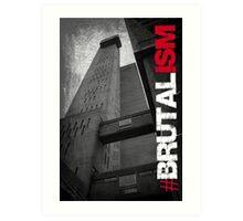 Brutalism #1 Art Print