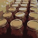 Canned Tomatoes All in A Row by teresa731