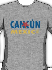 Cancun mexico graphic geek funny nerd T-Shirt