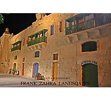 Valletta Waterfront Photographic Print