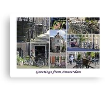 Bikes, Bikes, Bikes Canvas Print
