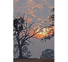 Bushfire Sky Photographic Print