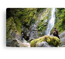 Douglas Falls - Vancouver Island Canvas Print