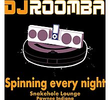 DJ ROOMBA Photographic Print