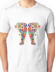 Paisley Floral Doodles Unisex T-Shirt
