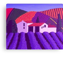 Lavender's er...........Mauve Canvas Print
