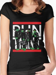 RUN TMNT Women's Fitted Scoop T-Shirt