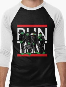 RUN TMNT Men's Baseball ¾ T-Shirt