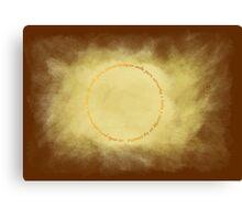 El anillo unico Canvas Print
