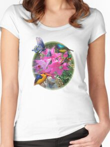 Amaryllis Party Women's Fitted Scoop T-Shirt