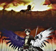 Eren Jaeger's kagune  by TegisJacksonMC