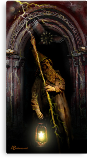 THE HERMIT by Larry Butterworth