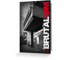 Brutalism #2 Greeting Card
