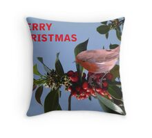 Christmas Reds Throw Pillow