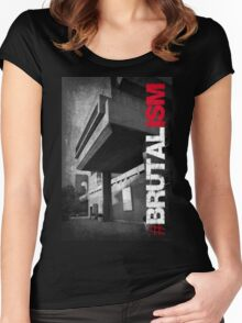 Brutalism #2 Women's Fitted Scoop T-Shirt