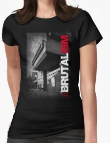 Brutalism #2 Womens Fitted T-Shirt