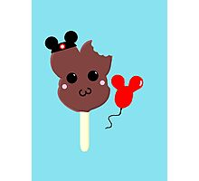 Kawaii Pixel Mickey Premium Ice Cream Bar Photographic Print