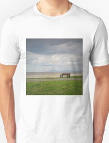 The Lonely Bench And The Distant View T-Shirt