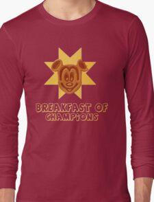 Mickey Waffle - Breakfast of Champions Long Sleeve T-Shirt