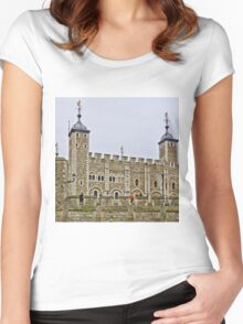 The Tower of London, England Women's Fitted Scoop T-Shirt