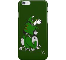 Green Voltron Lion Cubist iPhone Case/Skin