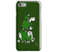 Green Voltron Lion Cubist iPhone Case/Skin