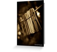 Days Gone By with Grandma Greeting Card