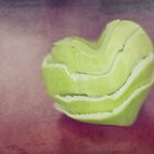 Apple Skins & Love Hearts by Julie Thomas