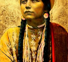 Lakota Maiden  by jane lauren