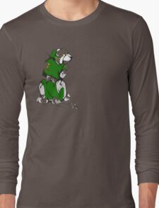 Green Voltron Lion Cubist Long Sleeve T-Shirt