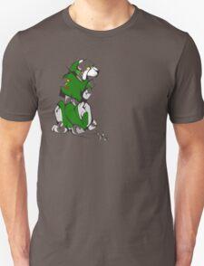 Green Voltron Lion Cubist T-Shirt