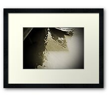 Water World #4 Framed Print